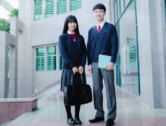 高校生の写真